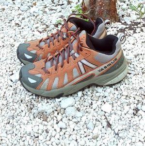 Like NEW! Vasque Hiking Shoes gray orange outdoor